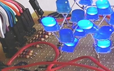 Cubo de Leds 3x3x3 com Arduino