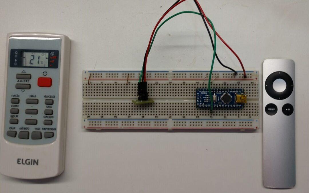 Controle qualquer dispositivo com controle IR através do Arduino